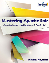 Mastering Apache Solr cover