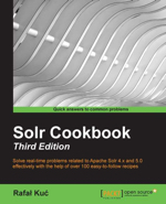 Solr Cookbook - Third Edition (cover)